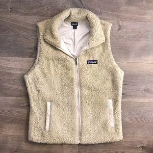 Patagonia furry vest.